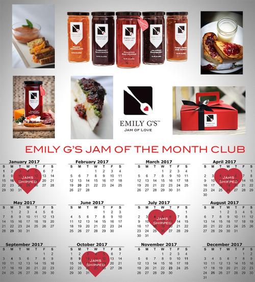 12 Month Jam Club