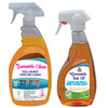1 Loveable Protective Teak Oil and 1 Lovable Clean Teak & Bamboo Furniture Cleaner