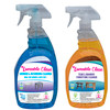 1 Loveable Teak & Bamboo Furniture Cleaner and Loveable Clean Plastic Shower & Outdoor Furniture Cleaner
