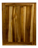 """EcoDecors Curvature 24"""" Teak Wood Fully Assembled Wall Cabinet in EarthyTeak Finish"""