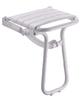Eleganto disability wall hung folding shower seat
