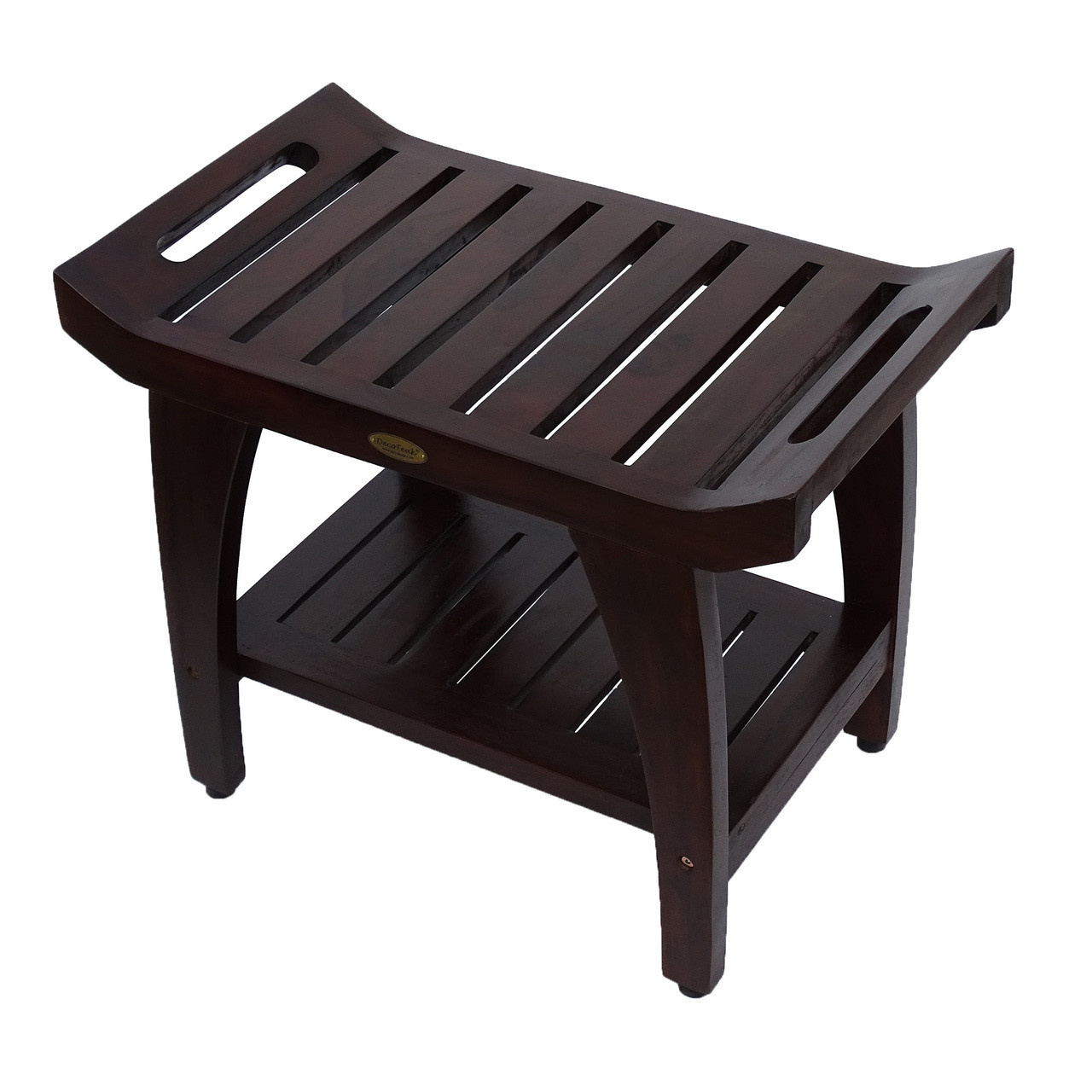 Picture of: Decoteak Tranquility 24 Inch Teak Shower Bench