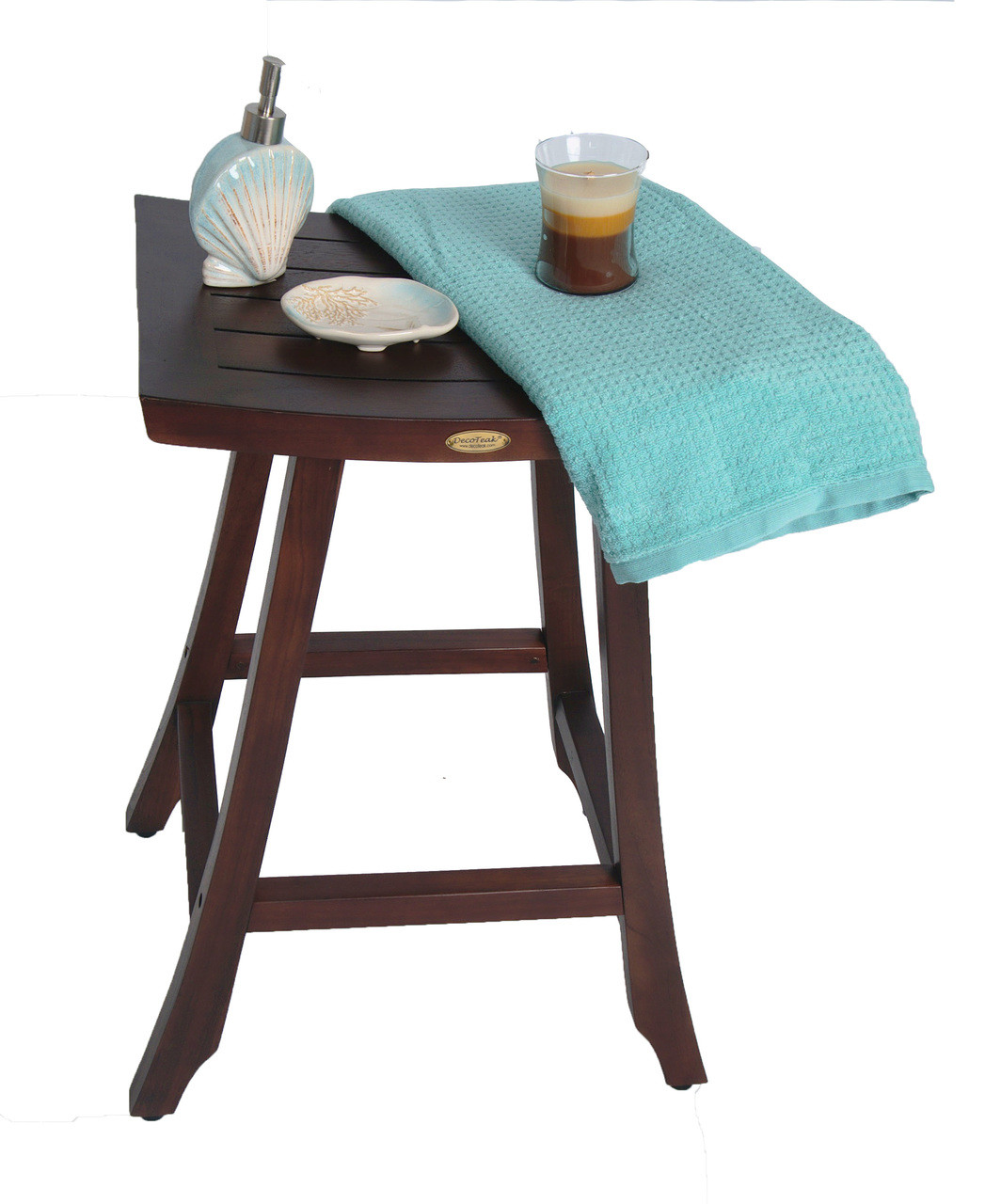 Satori™ Indoor Outdoor Teak Bar Stool - 30 inch Height