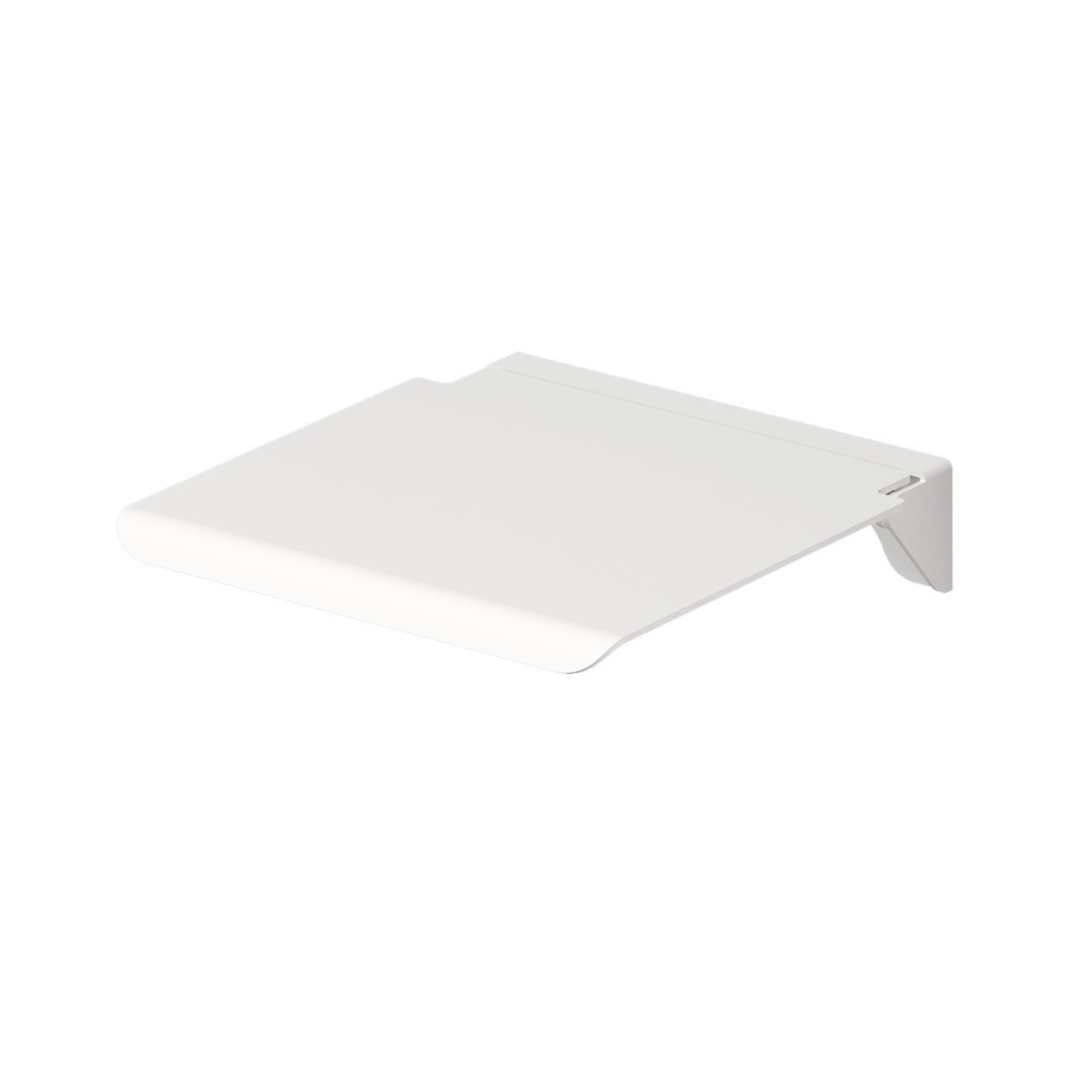 ADA Compliant White Folding Shower Seat 16 x 14 Inches