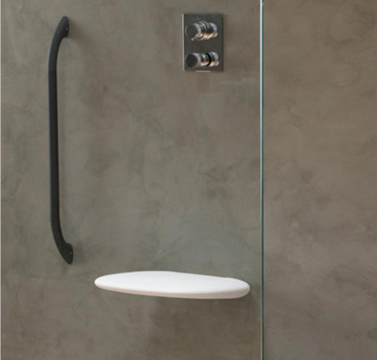 white eclypse shower chair