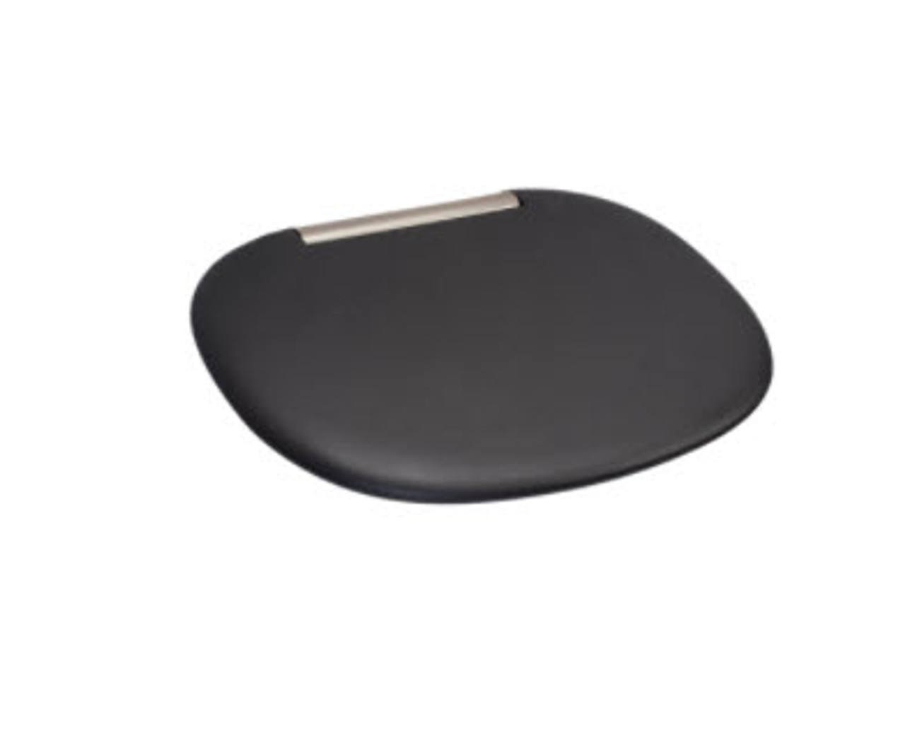 black soft touch shower seat