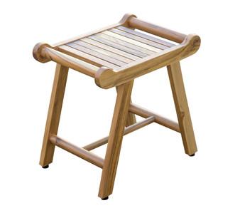 Cool Decoteak 20 Teak Shower Benches Stools Amp Chairs Frankydiablos Diy Chair Ideas Frankydiabloscom