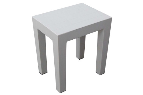 plasticity plastic shower stool