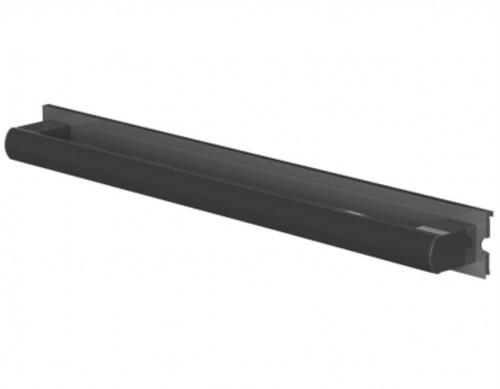 Innovato Ellipso Ebony Gray SwapAble Grab Bar/Towel Rack For Shower Seat Backrest & Arm Set