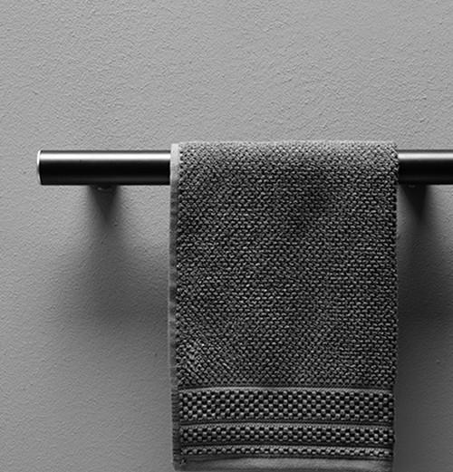 "24"" Straight Black Shower Grab Bar, ADA Compliant Handle Grab Bars for Bathroom | Wall Mount Grab Bar, Safety Hand Rail Support - Senior Assist Bath Handle"
