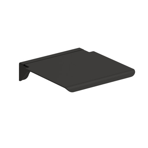 ADA Compliant Black Folding Shower Seat 16 x 14 Inches