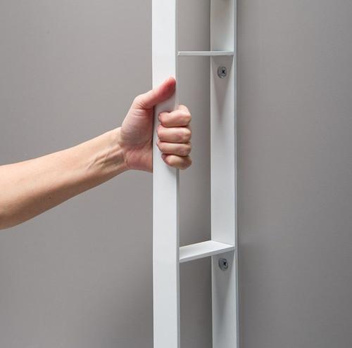 vertical shower shelf