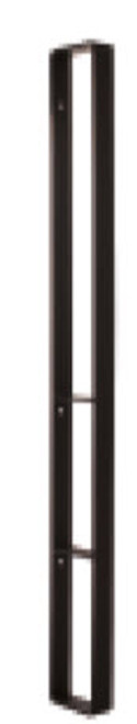 Black Fuzion™ Combo Vertical Shelf with Grab Bar