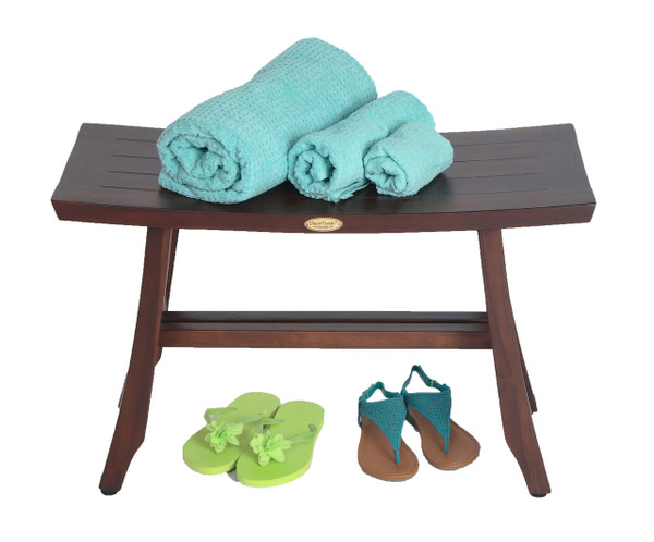 DecoTeak Satori™ 24 inch Teak Shower Bench