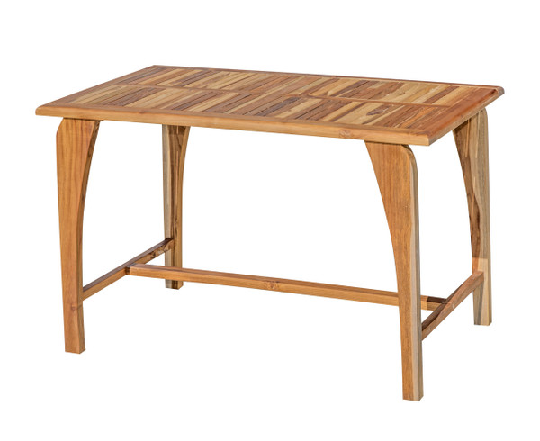 EcoDecors Tranquility™ Indoor Outdoor Teak Dining Table - 47 inch Length