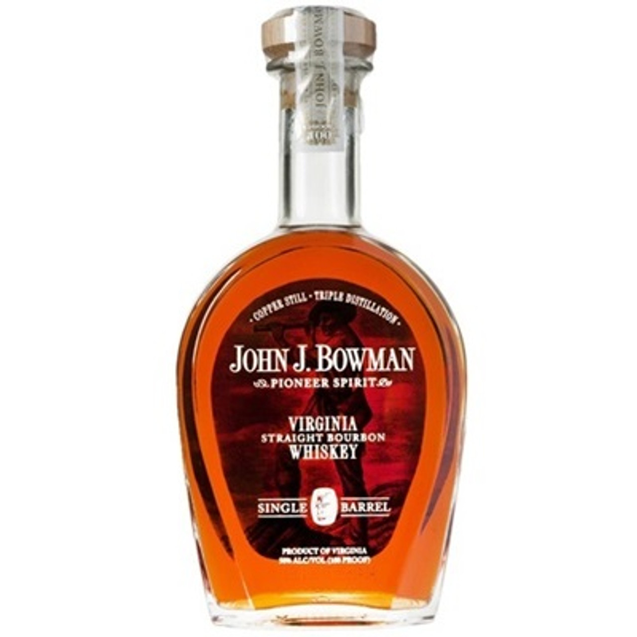 Bowman Single Barrel Bourbon 750ml