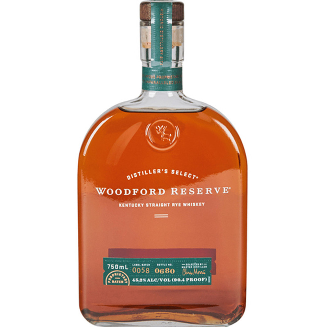 Made in the traditional style of Kentucky Ryes, Woodford Reserve Kentucky Straight Rye Whiskey delivers bold flavors of pepper and tobacco with a long fruit and sweetly spiced finish. It's available for purchase in select markets throughout the country.