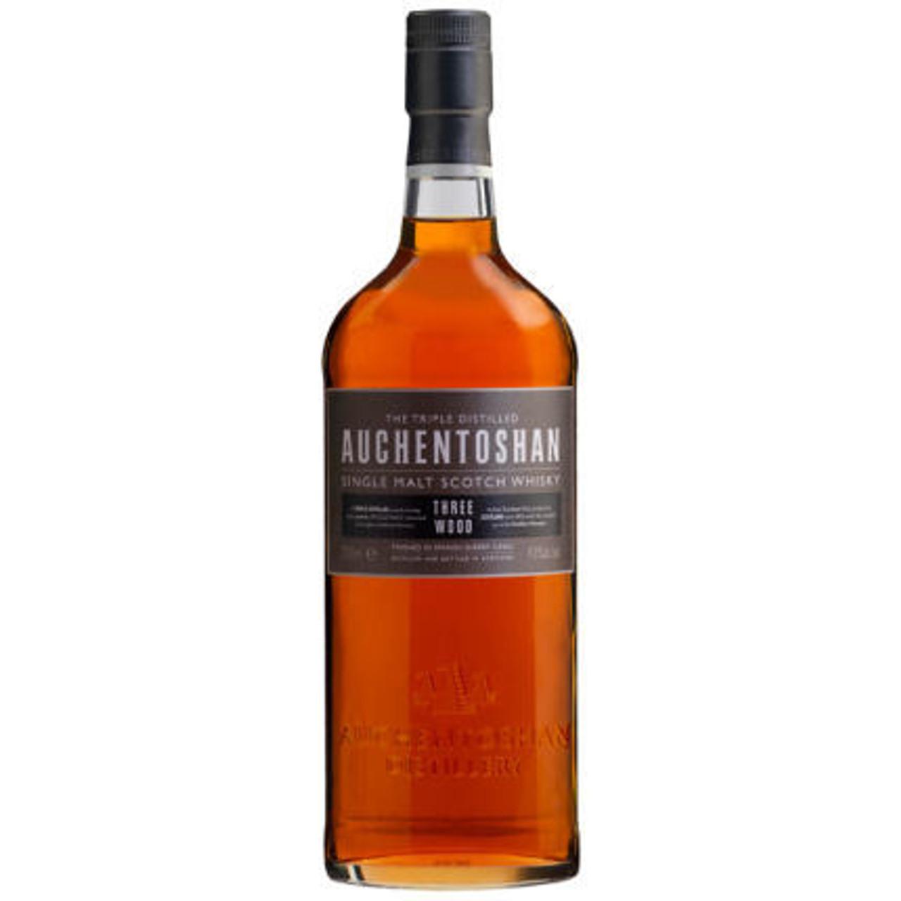 Auchentoshan 3 Wood Single Malt Scotch Whisky 750ml