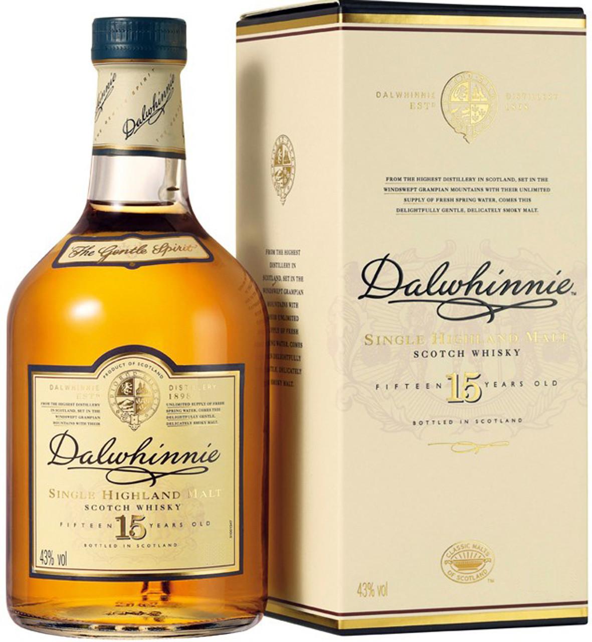 Dalwhinnie 15 Year Single Malt Scotch Whisky 750ml