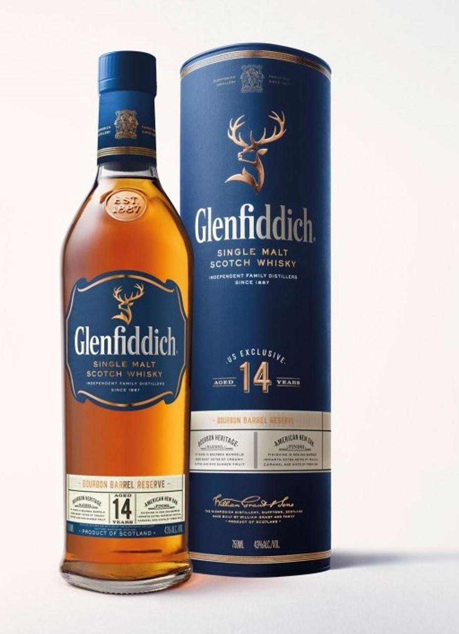 Glenfiddich 14 Year Single Malt Scotch Whisky 750ml