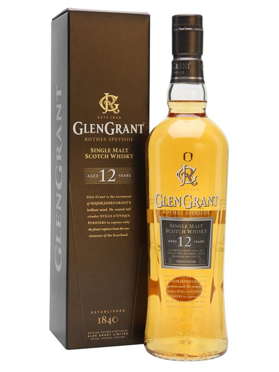 Glengrant 12 Year Single Malt Scotch Whisky 750ml