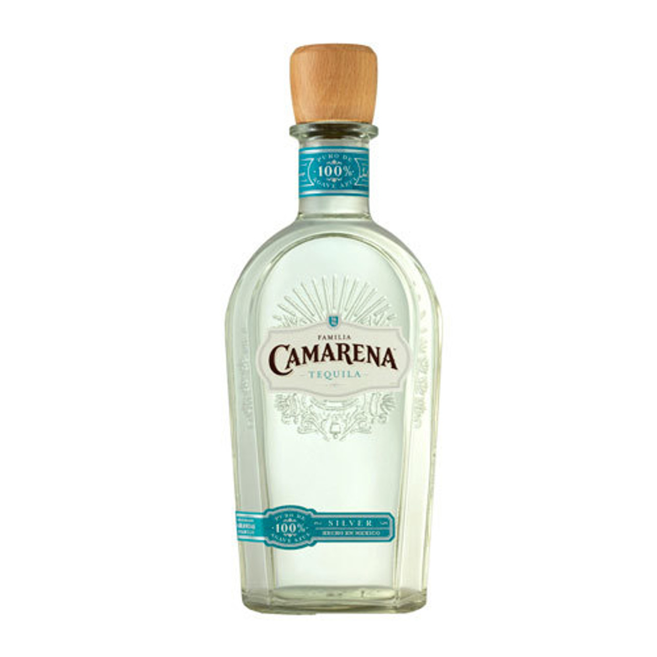 Clear with a pure, platinum sheen, Familia Camarena 100% Blue Agave Silver Tequila shows notes of rich toasted agave and fresh green herbs. Exceptionally soft and smooth on the palate, the Silver Tequila exhibits hints of sweet vanilla, savory brown spices and black pepper with a graceful, warming finish