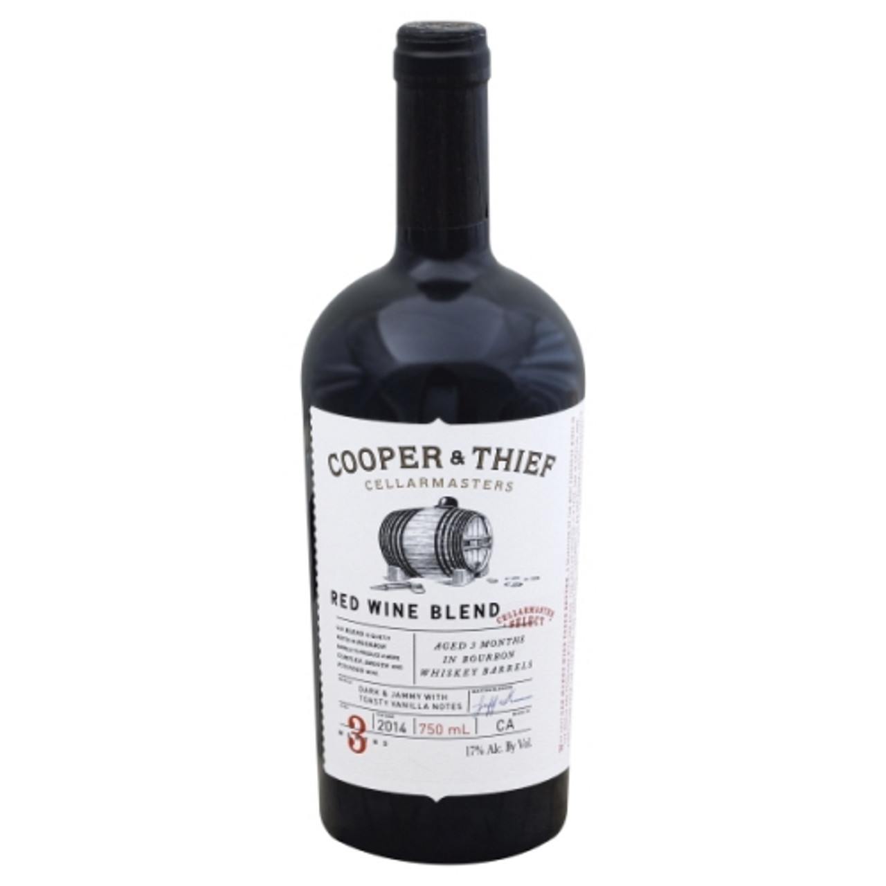Cooper & Thief Red Blend Bourbon Barrel Aged
