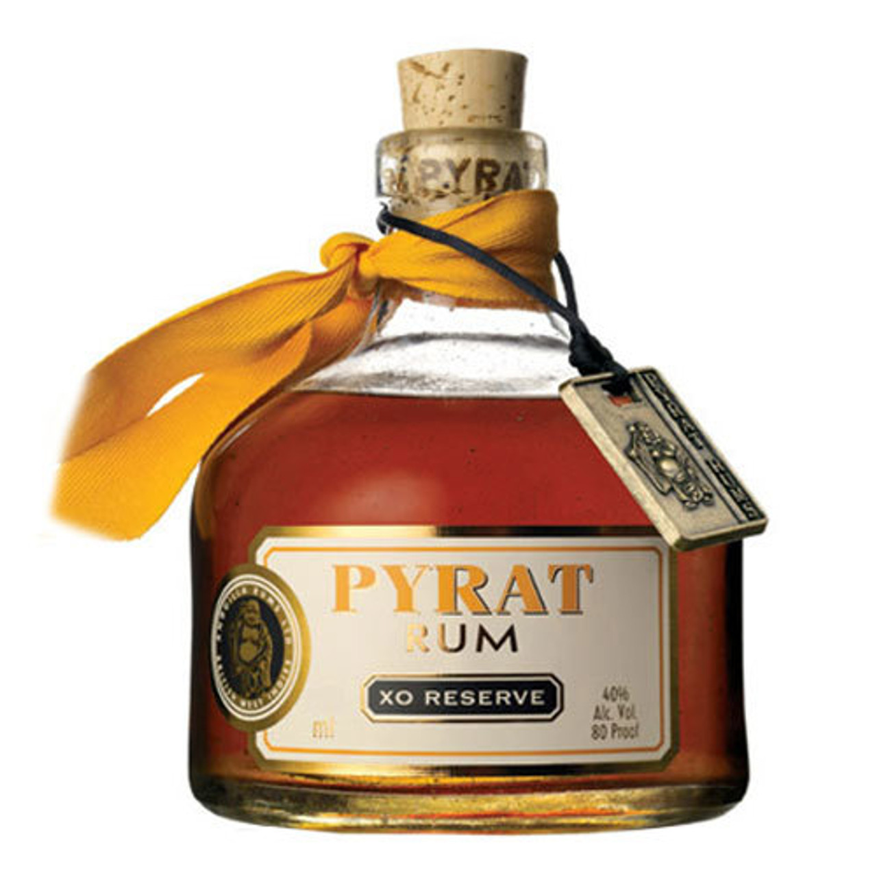 Pyrat XO Reserve is a complex yet mellow blend of select Caribbean rums, aged 15 years in French Limousin & American sweet oak barrels.