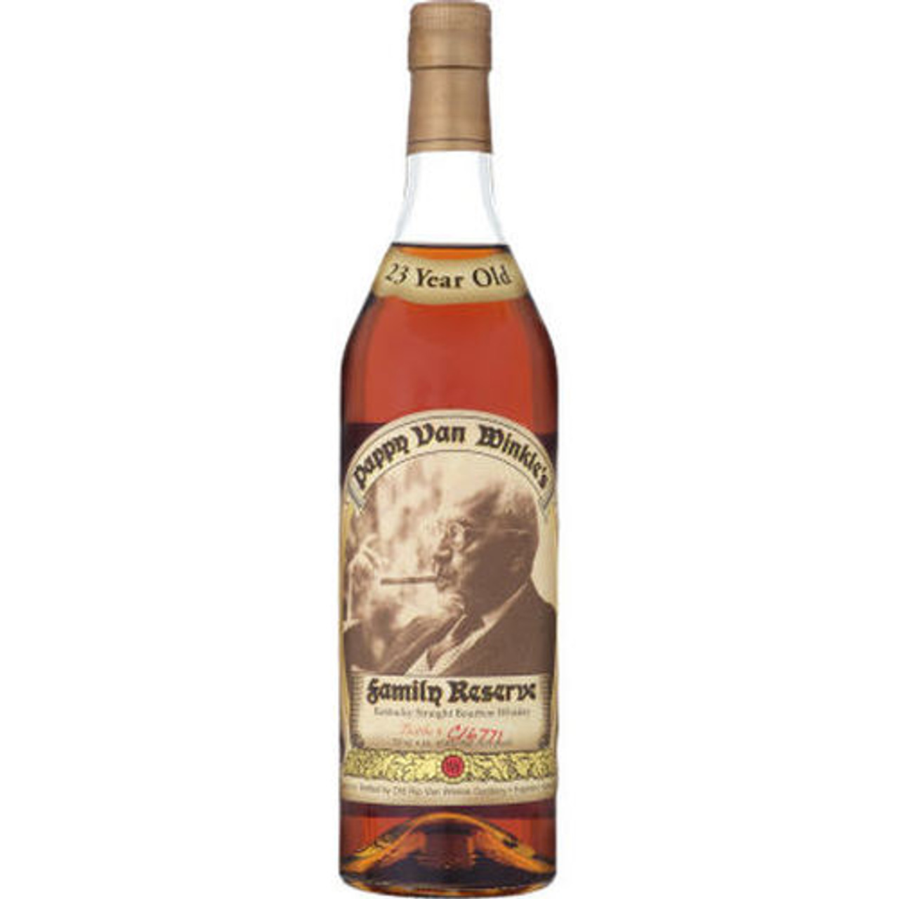 Many aspects of Pappy Van Winkle's Family Reserve 23 Year Bourbon are dark: dark fruits, dark spices, espresso roasted coffee, browned butter, charred oak, toasted nuts, and star anise are the standout flavors. It's a rare find, only released annually in small batches, making its availability shrouded in darkness too. If you're lucky enough to find some, caramel will greet your senses while the finish leaves you reeling through the complex array of flavors until you go back for the next sip. Be sure to drink this bourbon whiskey neat so you can savor its uniqueness.