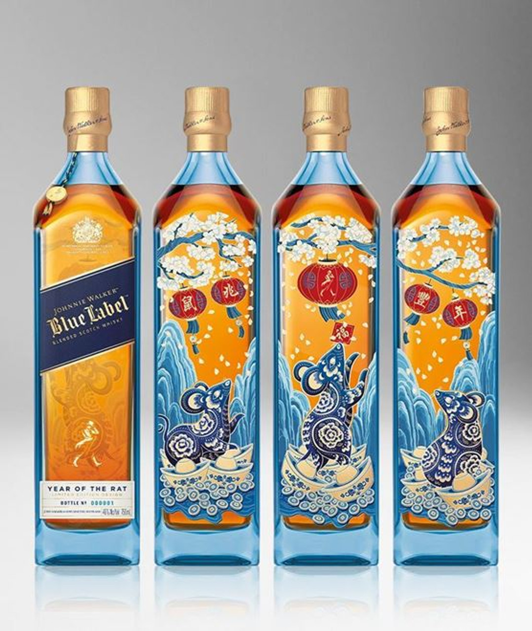 Johnnie Walker Blue Label Year of the Rat Limited Edition 750ml
