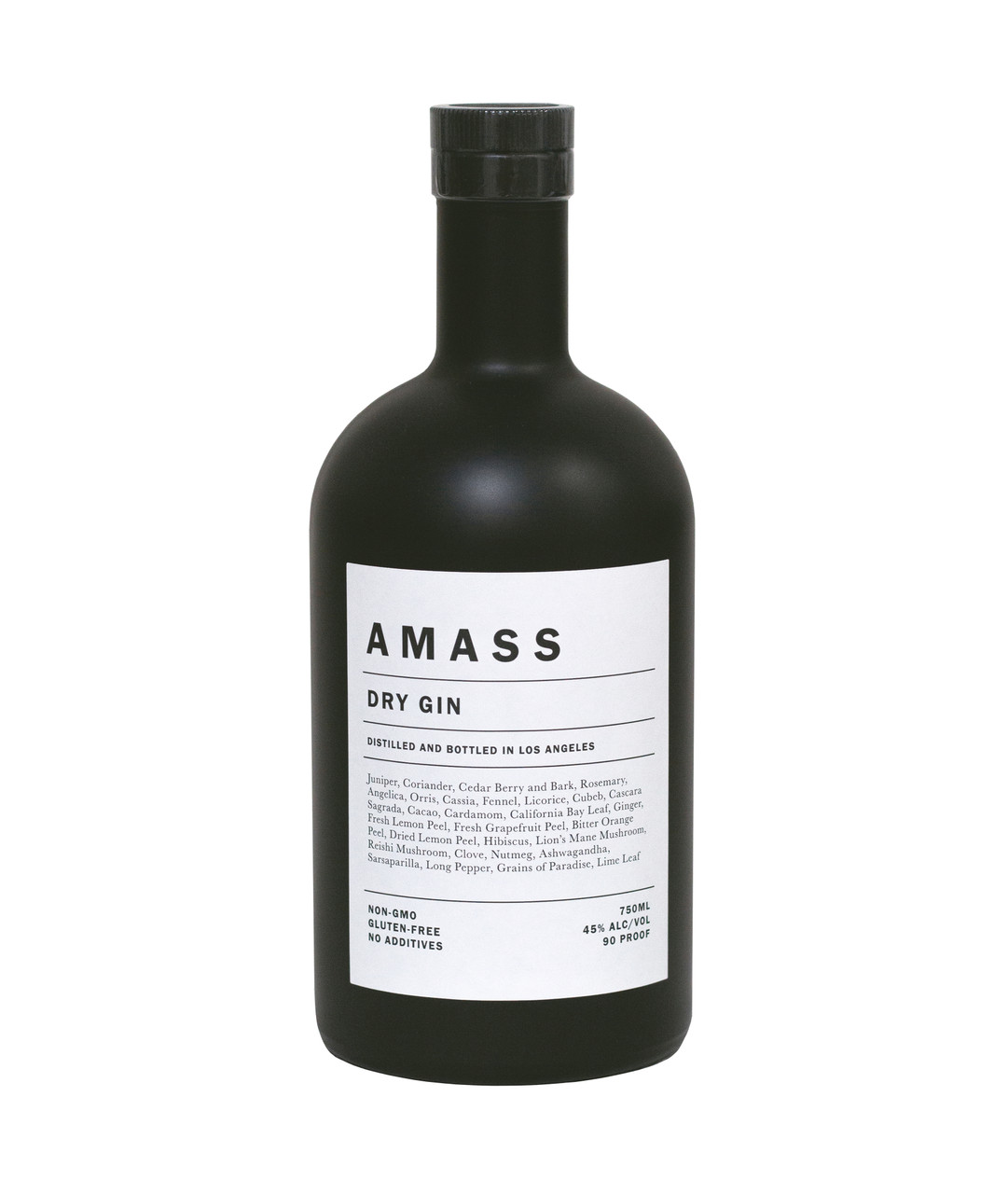 Distilled with 29 organic botanicals–three of which are sourced from Master Distiller Morgan McLachlan's Los Angeles backyard–AMASS Dry Gin celebrates the region's abundant natural terroir, diverse cultural landscape, and adventurous spirit.