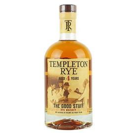 Templeton Rye 4 Year Bourbon 750ml