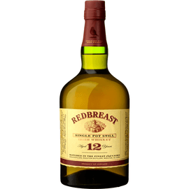 Our signature bottling, Redbreast 12 boasts the flavour complexity and distinctive qualities of Pot Still whiskey. Matured in a combination of bourbon and sherry casks, the distinctive Redbreast sherry style is a joy to behold in each and every bottle.