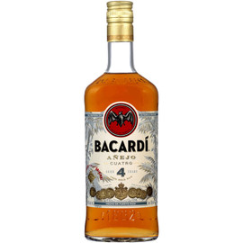 Bacardi Anejo 4 Year Rum 750ml