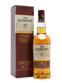 Glenlivet 15 Year Single Malt Scotch Whisky 750ml