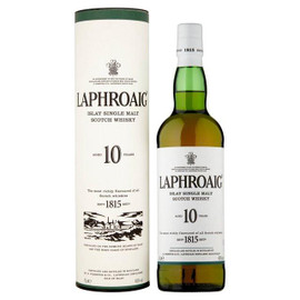 Laphroaig 10 Year Single Malt Scotch Whisky 750ml