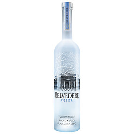 Belvedere Vodka is the first super-premium vodka, created from 600 years of Polish vodka-making tradition. Crafted using 100% Polska rye and water from its own natural well, Belvedere is all natural, contains zero additives or sugar, is certified Kosher and is produced in accordance with the legal requirements of Polish Vodka. Its taste profile is structured, elegant and balanced, with a subtle sweetness, velvety rich mouthfeel and smooth, clean finish.