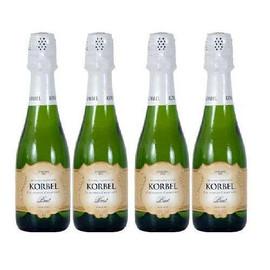 Korbel Brut Champagne 4 Pack 187ml