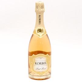 Korbel Brut Rose Champagne 750ml