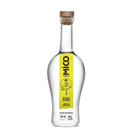 Mico Blanco -  Mico Blanco is deceptively gorgeous in its simplicity. Crafted in small batches with only three essential ingredients: Water, 100% Blue Weber Agave + time. This classic expression opens on a floral nose + finishes with crisp, ripe, natural agave characteristics.