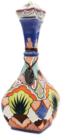 Mexico- Dolce Amargura Extra Anejo is packaged in a unique, hand-crafted ceramic bottle that is hand-painted. This tequila is expertly crafted using old world techniques and is made from 100% Blue Weber Agave.