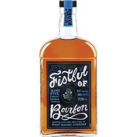 A blend of five straight bourbons created with over 100 years of whisky blending experience. The idea was a big whiskey that balances sweet and spice.