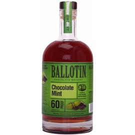 Ballotin Chocolate Mint Whiskey plays on the classic pairing of chocolate and mint with a welcome, spirited twist. Cool mint, dark chocolate, and elegant, spicy whiskey notes.