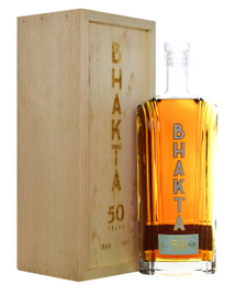 From Raj Peter Bhakta, founder of WhistlePig Whiskey and now Bhakta Brandy, comes the exclusive Bhakta 50 line. This rare collection blends Armagnac vintages dating back to 1868 in each bottle, with a 50-year minimum age statement and an Islay finish designed for the whiskey-lover's palate.