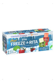 Freeze-A-Rita Icicles are a refreshing sweet treat this summer! In Lime-A-Rita and Straw-Ber-Rita flavors, these Icicles are 8% ABV, 55 calories or less, and perfect for your next summer hang out.