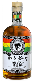 The Caribbean was known for its riches, its gold…  So are Rude Bwoy Spirits!  Distilled from Florida sugar cane and hand blended to perfection.  That all familiar real Caribbean rum taste but without the burn.  Ultra smooth flavor and depth as deep as the Caribbean Sea.