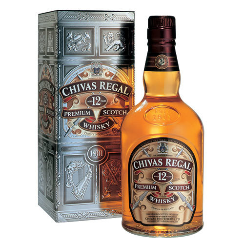 Chivas Regal 12 Year Blended Scotch Whisky 750ml