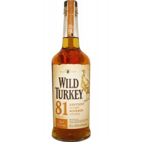 Wild Turkey 81 Proof 750ml