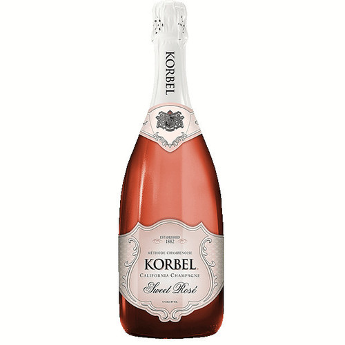 Korbel Sweet Rose Champagne 750ml