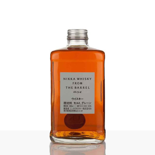 """Nikka From The Barrel is a blended whisky created to deliver full flavors and richness of whisky """"from barrels"""" which only blenders can sniff and taste."""